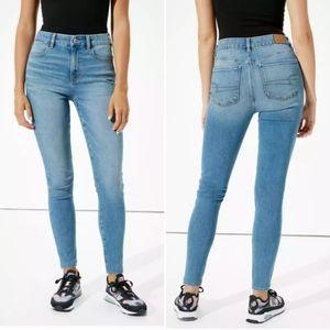American Eagle Super Hi-Rise Jegging light jeans